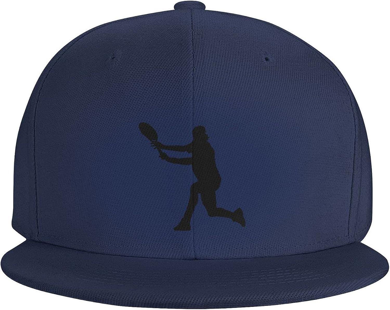 Soccer and Ball Moves Flat Brim Baseball Hat Cowboy Hat Sun Hat Unisex