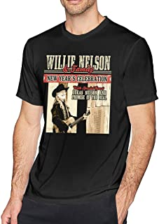 Absolute Cult Willie Nelson Men's Dangerous Fit T-Shirt