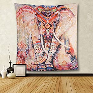 Elephant Bohemian Wall Hanging Tapestry