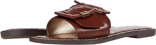 Dark Bourbon Nappa Leather