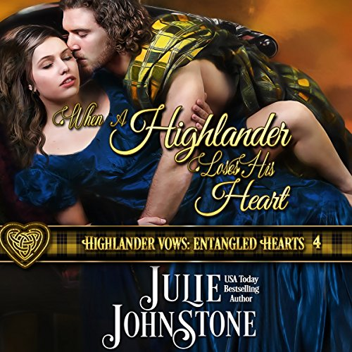 When a Highlander Loses His Heart audiobook cover art