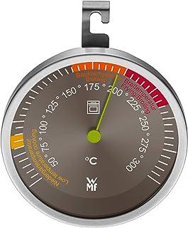 WMF Scala Backofenthermometer analog, Durchmesser 6,5 cm, Cromargan Edelstahl, Glas bis 300°C
