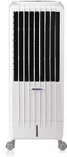 Symphony DIET8I Enfriador, purificador y humidificador, 95 W, 12.5 litros, 65 Decibeles, Plástico, 3 Velocidades, Blanco
