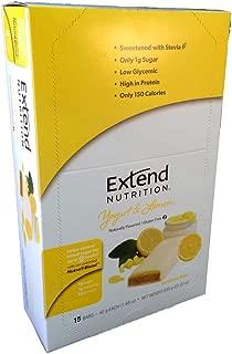 Extend Bar, Yogurt and Lemon, 1.48 oz. Bars (15 Count)