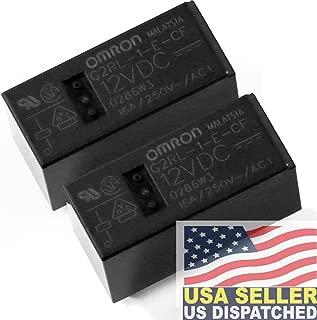 OMRON G2RL-1-E-CF-DC12, 12V DC, 12vdc, 16A, Power PCB Relay (Pack of 2)