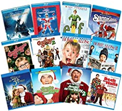 Ultimate Kids, Family & Comedy 12-Movie Christmas Holiday Blu-ray Collection: Polar Express/Christmas Vacation/Elf/A Christmas Story 1 & 2/Home Alone 1 & 2/Miracle on 34th Street/Santa Claus/Jingle Al