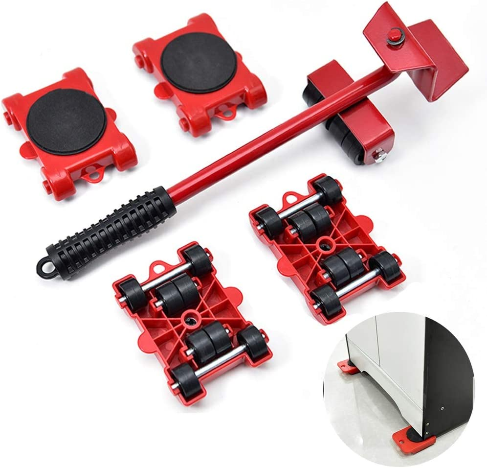 OUUCL Heavy Duty Furniture Lifter - Mover 4 Set with 70% OFF Outlet Slider Tool Max 71% OFF
