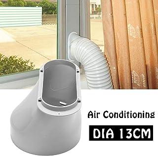 yestter - Adaptador de Ventana para Aire Acondicionado portátil, 13 cm, Conector de Tubo de Escape, Cubierta de Conductor, Interfaz de Aire Acondicionado
