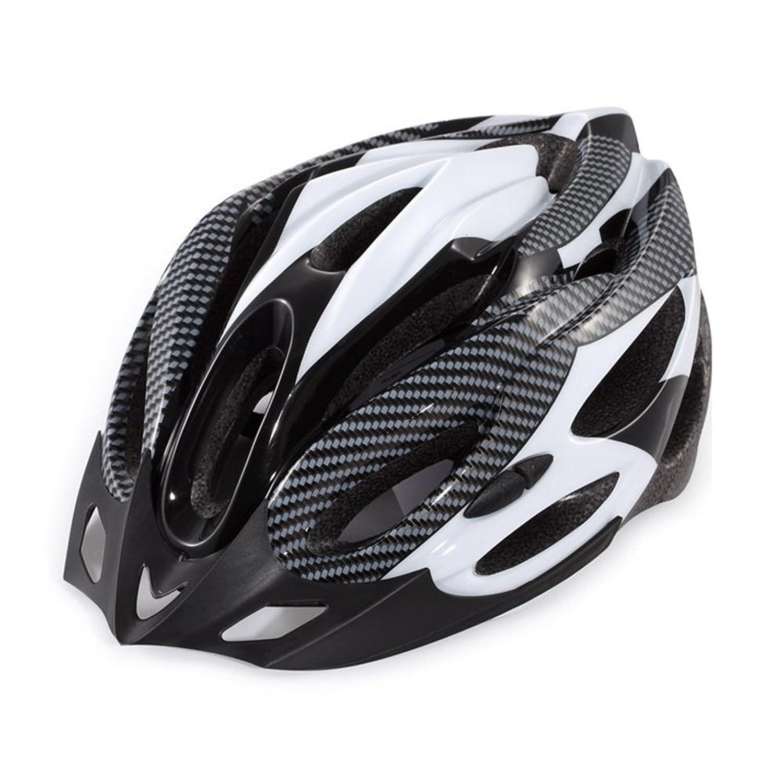 動的マイクロフォン遮るヘルメット 自転車 超軽量 高剛性 アンチショック 大人用/ジュニア 通気性良い ロードバイク サイズ調整可能 おしゃれ スポーツ&アウトドア クロスバイク 通勤通学に最適 54~60CM