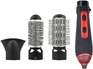 Profesional 3-en-1 negativo Ionic multi-función del cepillo de aire caliente de un paso secador de pelo y Volumizer Styler plancha de pelo cepillo curler peine para todos los peinados