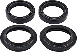 MOTOKU Set of Fork Oil Seal & Dust Seal Wiper Kit for BMW F650GS Harley-Davidson Electra Glide Electra Heritage Softail Tour Honda CB500X
