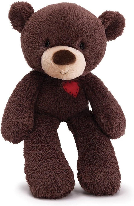 Gund My Fuzzy Valentine, Teddy-Br