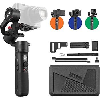 【公式旗艦店】ZHIYUN CRANE M2ジンバル 小型 多用途スタビライザー スマートフォン/カメラ対応