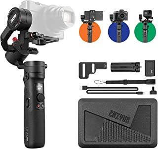 ZHIYUN Crane M2 3-Axis Handheld Gimbal Stabilizer for Mirrorless Camera, Action Camera and Smartphone - Black
