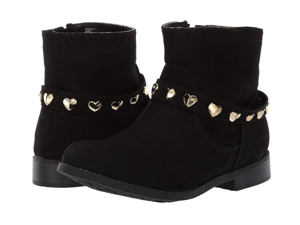 MICHAEL Michael Kors Kids Emma Melo (Little Kid/Big Kid) (Black Micro) Girls Shoes