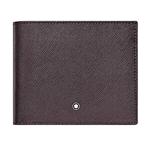 Montblanc MB Sartorial Wallet 8cc Cartera, Hombres, GRPH (Negro), Talla Única