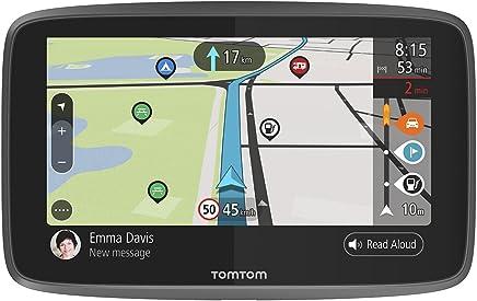 TomTom GO Camper Navigatore, 6 Pollici, con Aggiornamenti Tramite Wi-Fi, PDI per Camper e Caravan, Mappe del Mondo a Vita, TomTom Road Trips