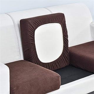 Housse de coussin de siège de canapé extensible protection de remplacement