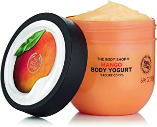The Body Shop Mango Body Yogurt, 48hr Moisturizer, 100% Vegan, 6.98 Fl.Oz