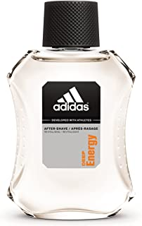 Adidas Male Personal Care Deep Energy After Shave 3.4 Fluid Ounce Dynamic Fragrance Revitalizing Aftershave Masculine yet Subtle Scent