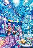 Pintura por Números Acuario colorido pez delfín para Adultos y niños Pintar Diy al óleo de Bricolaje con Marco Pinceles Principiantes Hogar Lienzo Decoraciones Colores Acrílica Conjunto Casa