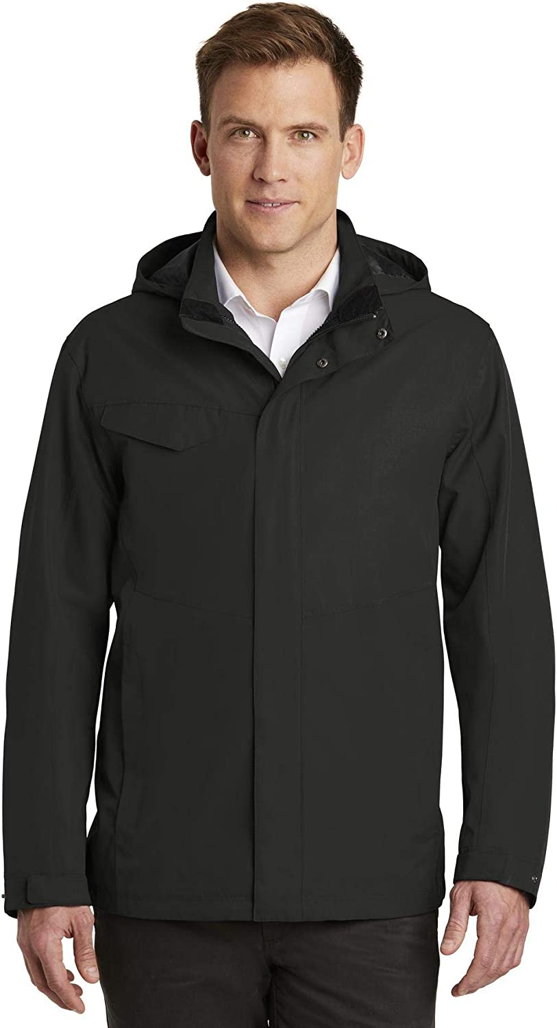Port Authority Men's Collective Outer Shell Jacket, Deep Black, XXX-Large