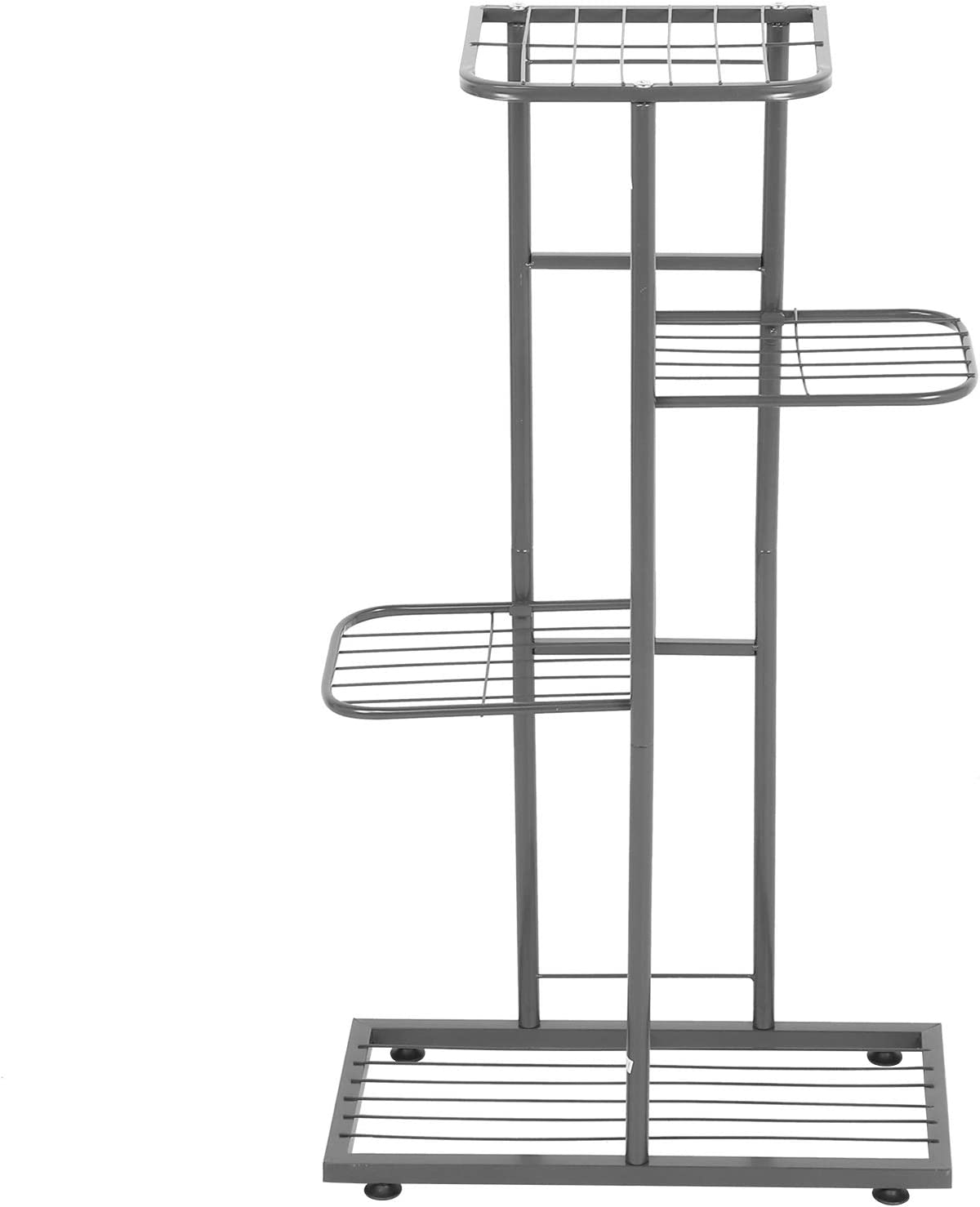 GOTOTOP Metal Classic 4 Tier 5 Potted Multiple Max 54% OFF Flower Stand Ra Plant Pot