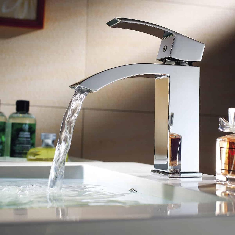 PaulGurkes Design Armatur Waschtischbatterie Waschtischarmatur eckig