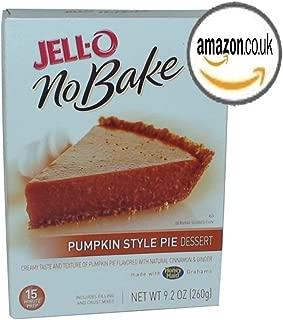 Jell-O No-Bake Pumpkin Style Pie Dessert, 9.2-Ounce Box