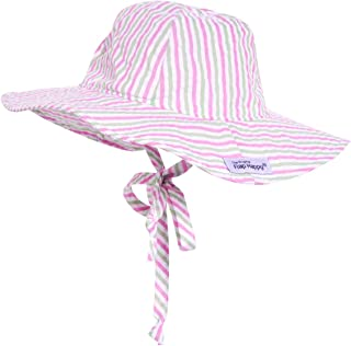 Baby Floppy Sun Hat UPF 50+, Highest Certified UV Sun Protection, Azo-free dye