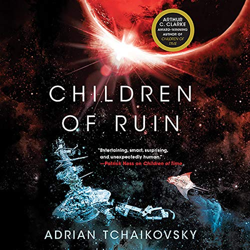 Children of Ruin audiobook cover art
