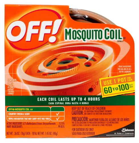 Off! Mosquito Coil Starter 1-Count Boxes (Pack of 6)
