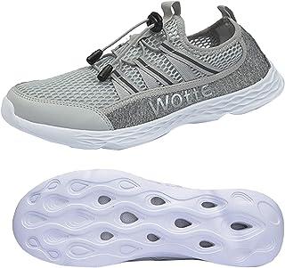 أحذية مائية للرجال سريعة الجفاف بير فوت أحذية المشي الرياضية المائية خفيفة الوزن في الهواء الطلق أحذية رياضية مائية