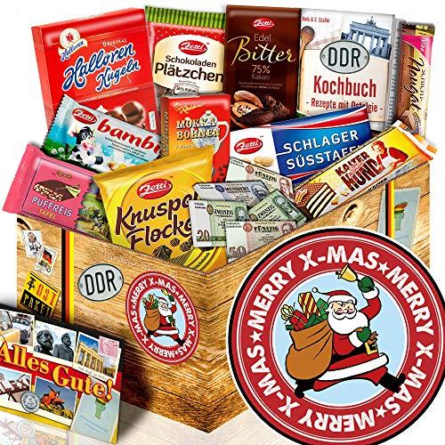 Weihnachtsmann ++ Weihnachts Geschenkideen ++ Schokoladen Ossi Paket L