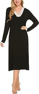 Best long sleeve ladies nightdress Reviews