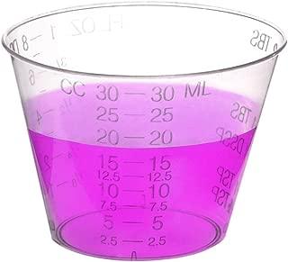 Medicine Cups (1oz) - 500 Plastic Disposable Graduated Medicine Cups from PrimeMed (500)