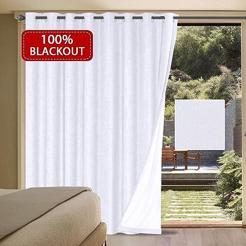 Blackout Curtains 100x84 Panel: Amazon.com