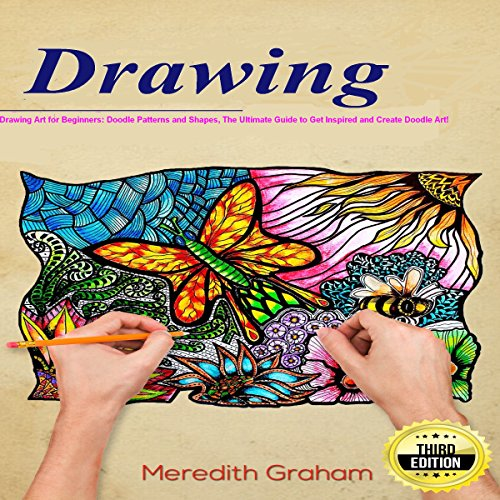Drawing: Drawing Art for Beginners audiobook cover art