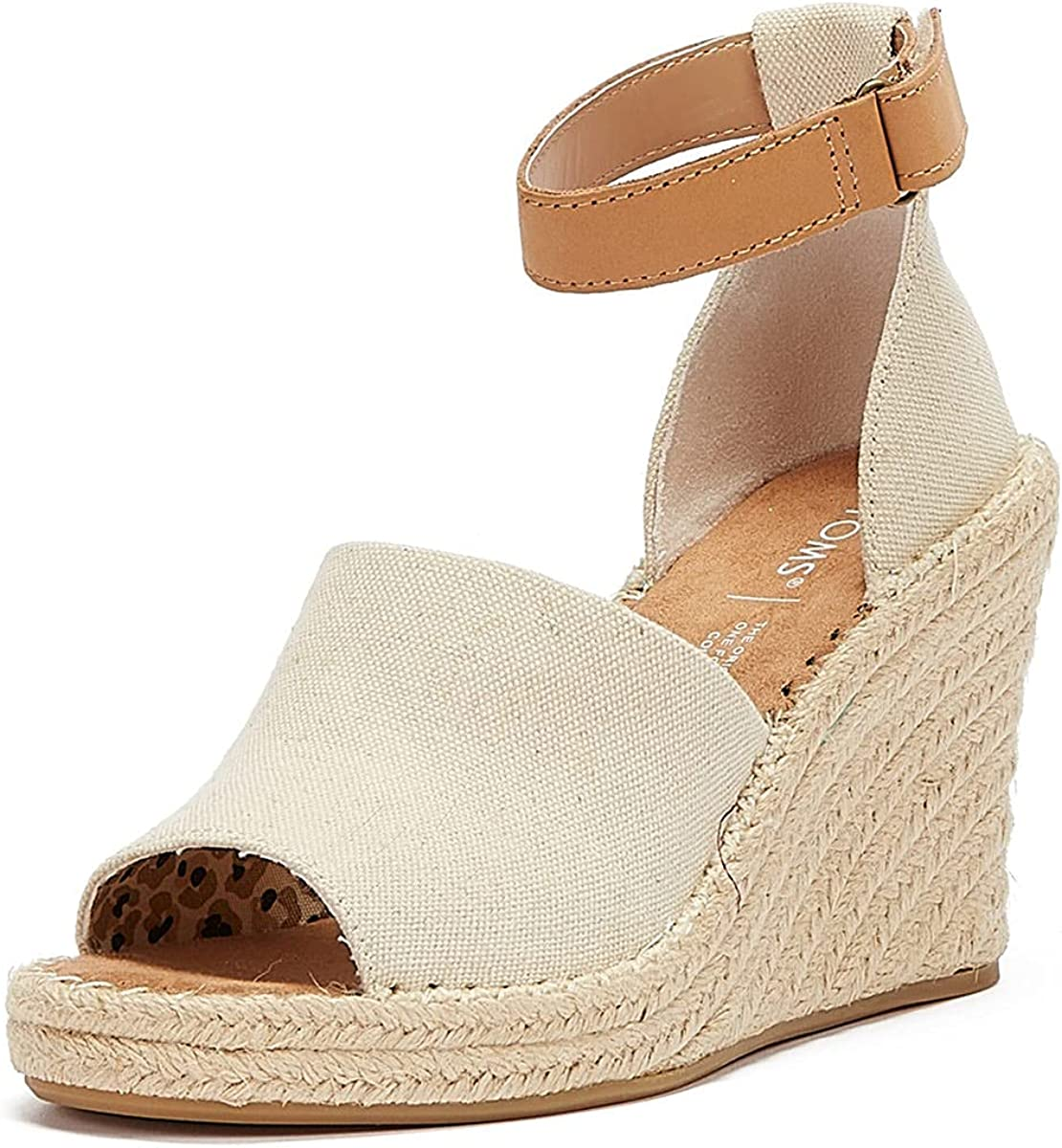 TOMS Women's Marisol Wedge Ankle Strap Sandal