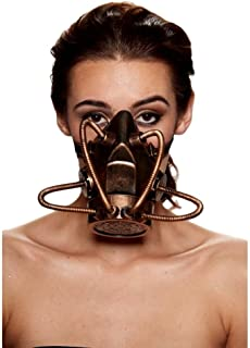 Steampunk Gas Mask (One Size Fits Most)