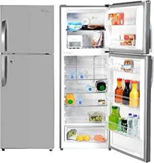 Super General 410 Liters Gross Double Door Refrigerator-Freezer, No-Frost, LED-light, Lock & Key, Inox, SGR-410-l, 60.5 x ...