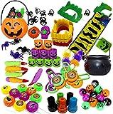 THE TWIDDLERS Set di 110 Giocattoli a Tema Halloween per Feste - Bomboniere, Dolcetto o Scherzetto e Halloween