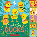 Five Little Ducks: A Fingers & Toes Nursery Rhyme Book: Fingers & Toes Tabbed Board Book (Fingers & Toes Nursery Rhymes)