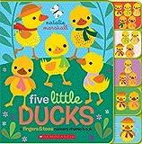 Five Little Ducks: A Fingers & Toes Nursery Rhyme Book: Fingers & Toes Tabbed Board Book (Fingers & Toes Nursery Rhymes) - Natalie Marshall