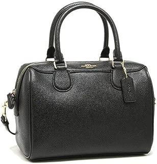 Coach F32202 Mini Bennett Satchel Bag for Women - Leather, Black