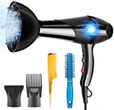 PluieSoleil 3000W Professional Hair Dryer with 2 Speeds and