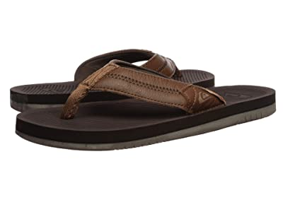 Quiksilver Coastal Oasis Deluxe (Brown/Brown/Brown) Men