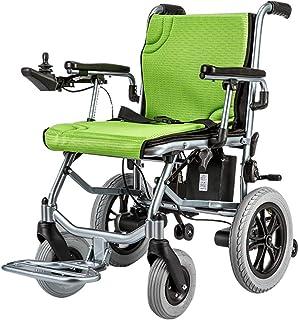 silla de ruedas pequeña eléctrica Plegable Ligera, Abierta/de Plegado rápido Sillas eléctricas más compactas para discapacitados