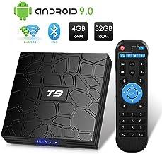 T9 Android 9.0 TV Box 4GB DDR3 RAM 32GB ROM RK3318 Bluetooth 4.0 Quad-Core Cortex-A53 64..