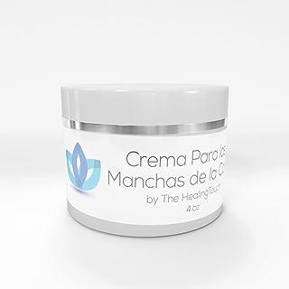 Crema Para Las Manchas de La Cara: Elimina las Manchas Obscuras del Acne, el Sol, Edad, y Arrugas. Embellece tu Rostro con este Humectante Facial Antiarrugas (4 oz)